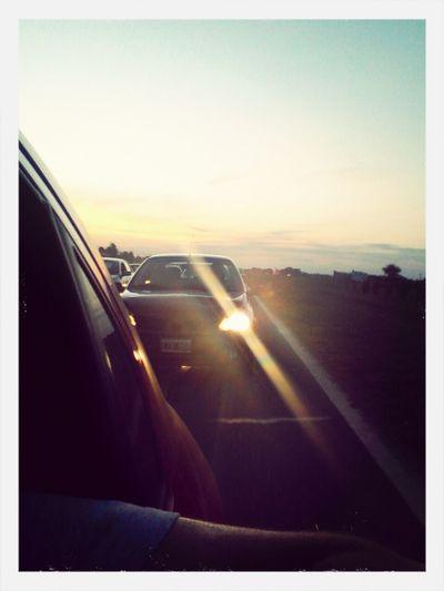 De regreso a casa. Route