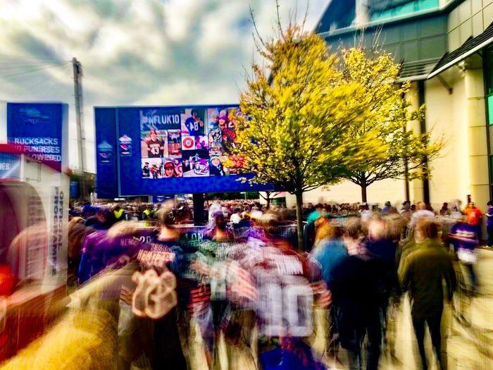 NFL UK Madness IPhoneography ShotOnIphone Shotoniphone7plus Mobilephotography Twickenham Stadium Long Exposure Movement Crowds England London LONDON❤ London Lifestyle NFL NFLUK ClevelandBrowns Minnesotavikings American Football
