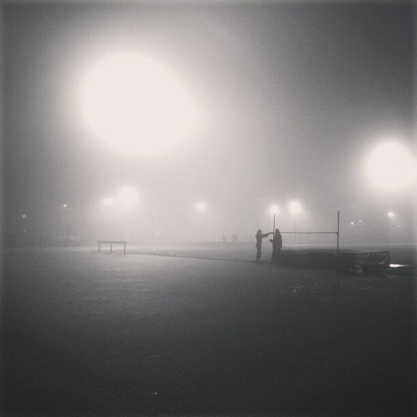 Training in the fog #instagramhub #igdaily #picoftheday # athletics #trackandfield #highjump Picoftheday IGDaily Instagramhub Trackandfield Highjump