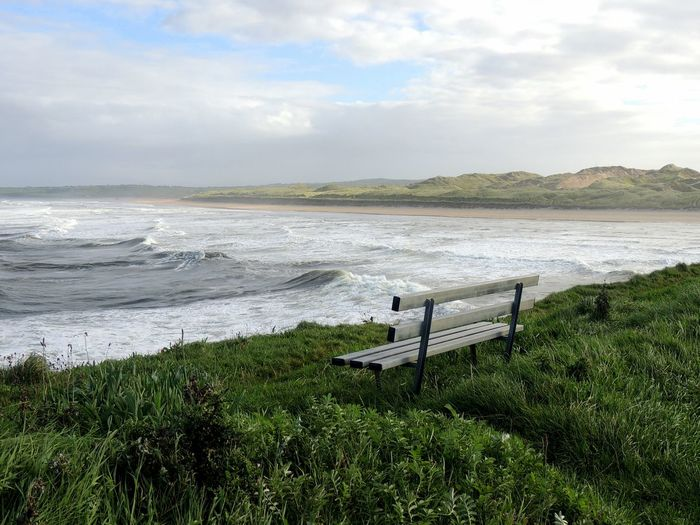 Ireland North Ireland Bundoran,Ireland Coast Beach Life Cliffsandsea Tranquility Scenics Water Sea Waves, Ocean, Nature