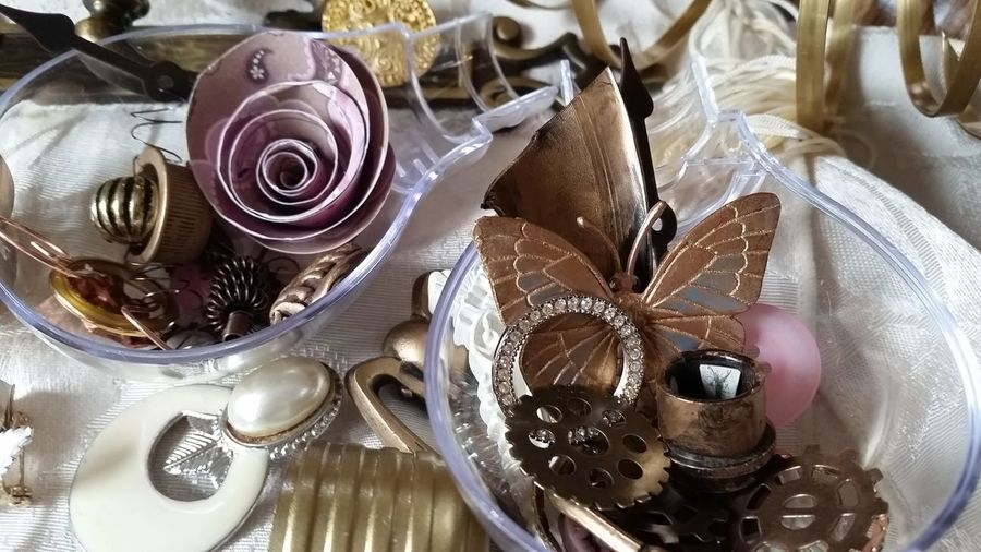 Just a behind the scenes look at My Eclectic Romantic, Victorian projects! Eclectic Original Art Showyourwork Eclecticat444 Vintage Handmade Etsy Romantic Jewelry