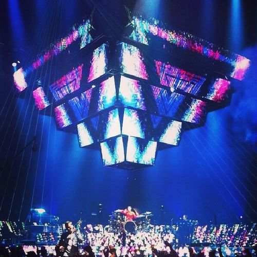 Muse's evolving pyramid Muse The2ndlawtour Pwopermuser Muser muserforever mattbellamy