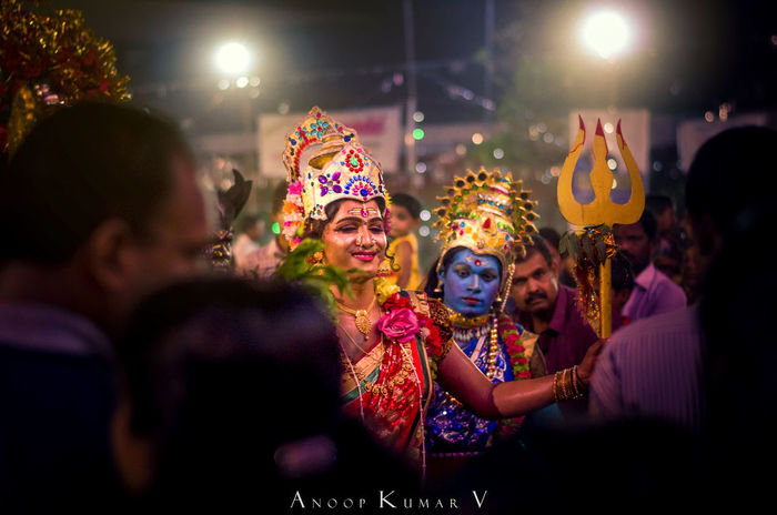 The Gods among their creators 50mm F1.8 Artform Arts Culture And Entertainment Celebration Crowd D5100 Dancing Devi God India Kerala Large Group Of People Lights Men Night Nikon Pazhaveed Performance Real People Religion Smiling Temple Togetherness Tradition Young Women