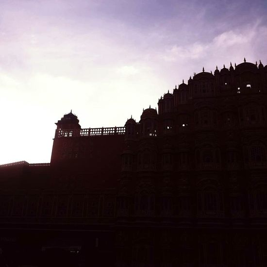 Hawa Mahal Palace Jaipur Rajasthan India Evening Sky Historical Monuments Picoftheday PhonePhotography Travel Destinations History No People Ancient Sky Day Built Structure Love ♥ Hometown Memories Place Of Heart The Street Photographer - 2017 EyeEm Awards Live For The Story Adventures In The City