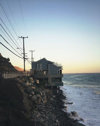 House Malibu Lana Del Rey High By The Beach Music Video Sunset Sea Sand EyeEmNewHere
