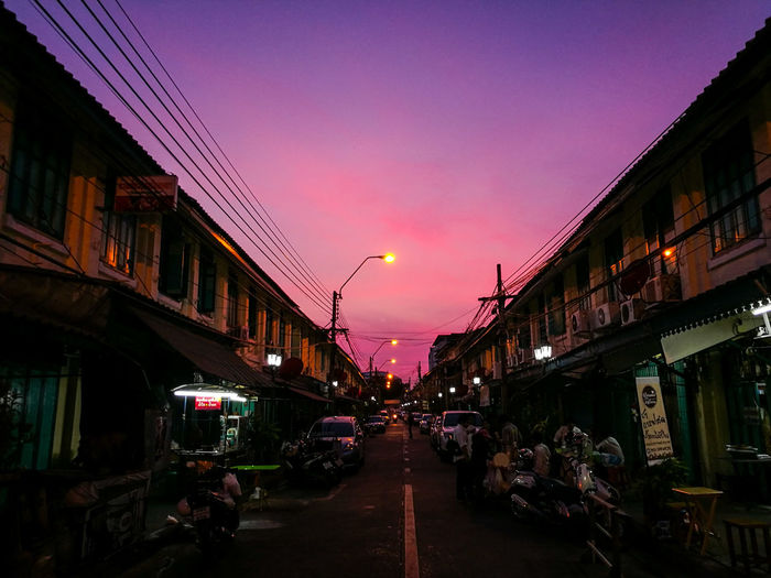 sunset Sunset Architecture Illuminated Sky City Built Structure History Outdoors Travel Destinations Thailand