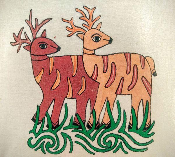 Creativity Mithila Mithila Art Mithila Culture MithilaPainting Nepal No People Print Tarai Nepal Tradition Tshirt Design Tshirt Print
