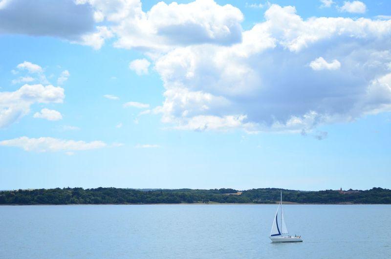 Cloud - Sky Water Nautical Vessel Sailing Ship Tree Sea Sailing Sailboat Blue Summer