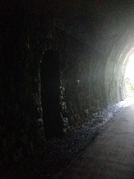 Refuge Railway Railroad Tunnel Abandoned Abandoned Places Strawberry Line Somerset England