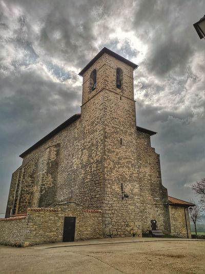 Architecture Built Structure Cloud - Sky Sky Building Exterior Low Angle View Building History Religion Travel Destinations Outdoors Tower