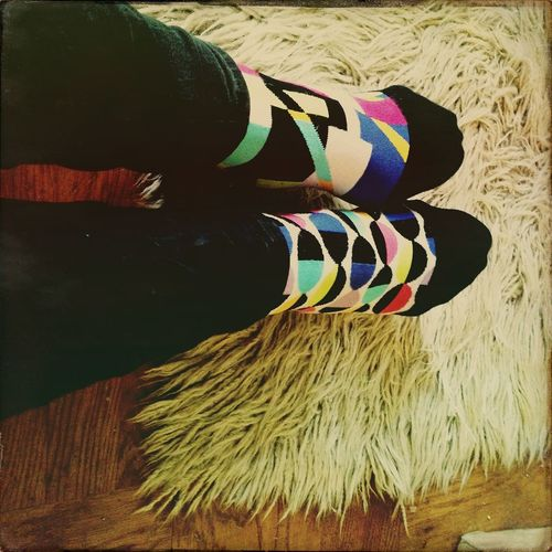 My Socks Mismatch Day Hipstamatic Brighton
