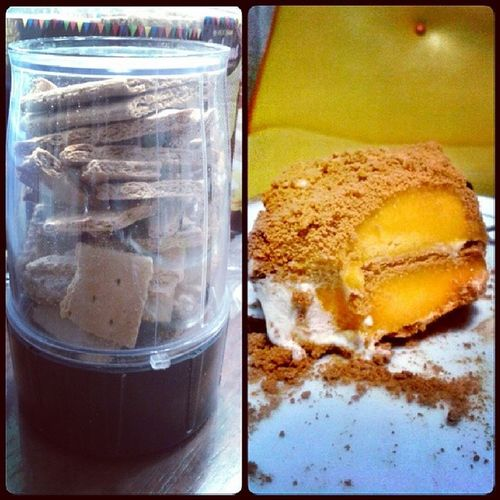 Mango Graham Cake. Instaba Sweettooth Brainfreeze