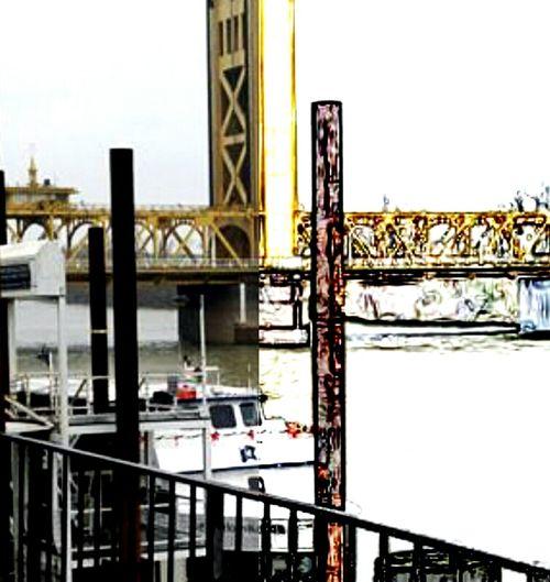 Tower Bridge  Sacramento, California Oldsacramento City Travel Destinations Bridge - Man Made Structure Built Structure Sky Architecture Day Outdoors Water Cityscape No People California Dreaming Multiple Image California Love