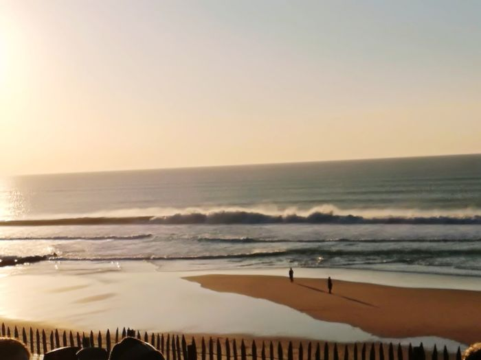 Nice wave on Chrismas day ! Beach Sunset Vacations Sand Beauty In Nature