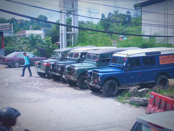 Parking Car Transportation Land Vehicle Outdoors Land Rover Defender Land Rover