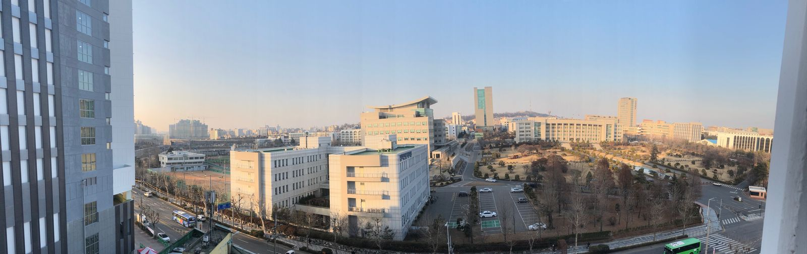 Korea South Korea Incheon University InHa Univ. EyeEm Selects Architecture Building Exterior Cityscape Built Structure Skyscraper City Clear Sky Urban Skyline No People Day Sky Outdoors