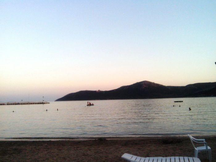 Water Beauty In Nature Calm Nature Summer Sea Beach Beautiful Sunset Greek Islands Greece Island Sea I❤greece Greece GREECE ♥♥ Greecestagram Greek Greece2016 Swim Time✌