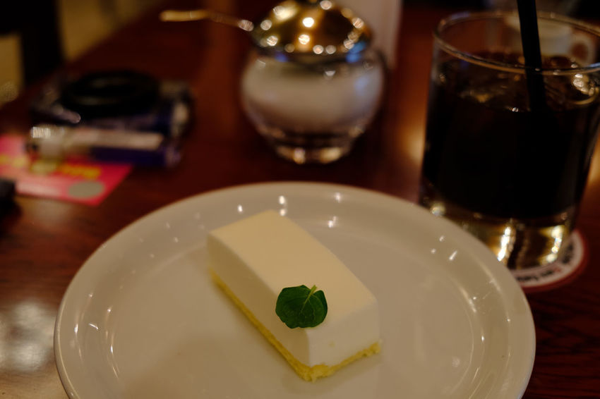 Cheese Cake Dessert FUJIFILM X-T2 Rare Cheesecake Cake Close-up Cooked Dessert Food Food And Drink Freshness Fujifilm Fujifilm_xseries Gourmet Healthy Eating Indoors  No People Plate Selective Focus Serving Size Sweet Food Sweets Table X-t2 レアチーズケーキ
