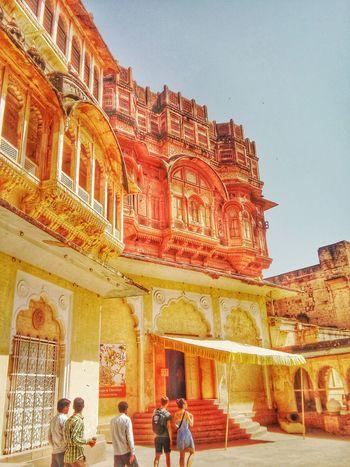 Travel Rajasthandiaries Royal Fort Jodhpur Taking Photos