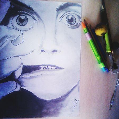 Drawing Art Karakalem çizimim Portre This Is My Hobbies Sıkılınca Böyle ✌️ :Dd