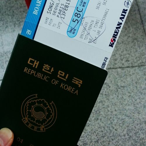 Starting A Trip Go To Paris Enjoying Life 두근두근 첫 파리♡