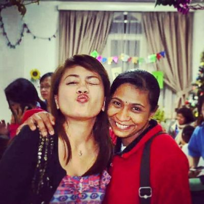 To my most beloved mama Vilasini who accepted me and all my crazies, Happy Happy Birthday! I love you to the moon and back. Thank you for always being there for me through my ups and downs, for accepting my weirdness and for magnifying the good. For sharing your wisdom and nurturing side. And for being my bigger sister and mama at the same time. May you have more blessed and wonderful years to come with your kids and loved ones! Let us celebrate our birthdays when I come back, yeah?! Love lots. ♡♡♡ Birthday Mama Happy Love blessed