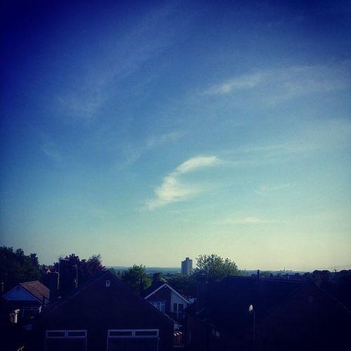 Beautiful Sunny Day In Nottingham, I Love This City Sky Blue Nottingham Sunny amazing nottscityrocks neoino