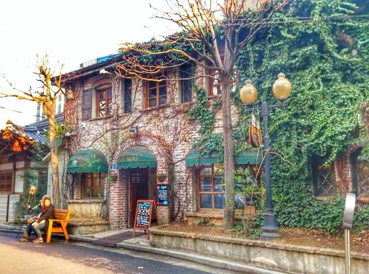 Insadong Architecture Built Structure South Korea Travel Korea