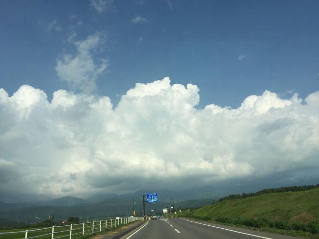 空 My Sky 青空 夏空 信州 八ヶ岳山麓 雲の形 夏の雲