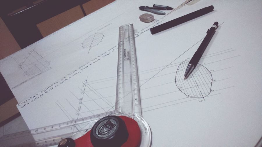 Everyday Education Engineering_Student Engineering_Drawing First Eyeem Photo