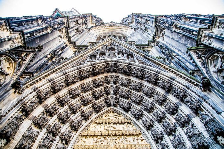 Architecture Building Exterior Built Structure Low Angle View Place Of Worship The Past Religion Day History Travel Destinations Spirituality Belief Arch No People Travel Building Art And Craft Sky City Ornate Outdoors Gothic Style Architecture And Art Carving