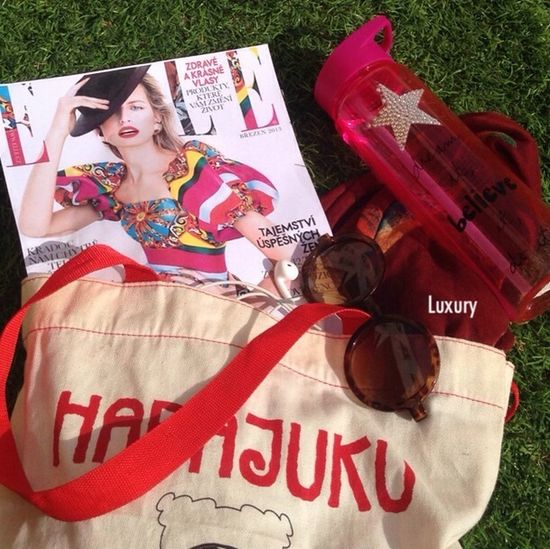 Elle Magazine Fashion Sunglasses Enjoying Life صباح النشاط ❤️
