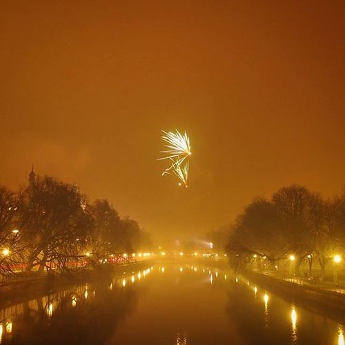 Foggy Night . Fog over the Isar River . at the Ludwigsbrücke Bridge . Munich München Bavaria Bayern Deutschland Germany . Taken by my Sony SonyQx30 Qx30 . ضباب جسر نهر ميونخ بايرن المانيا