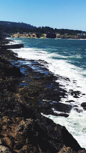 Beach Sea Water Nature Wave Day Outdoors Sunlight Clear Sky Tranquility Scenics No People Beauty In Nature EyeEmNewHere
