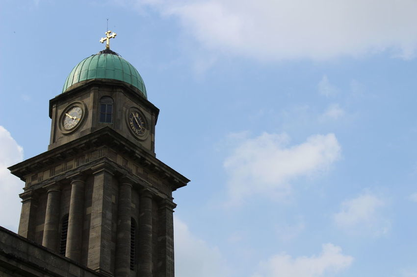 Architecture Bridgnorth Building Exterior Built Structure Clock Face Clock Tower History Religion