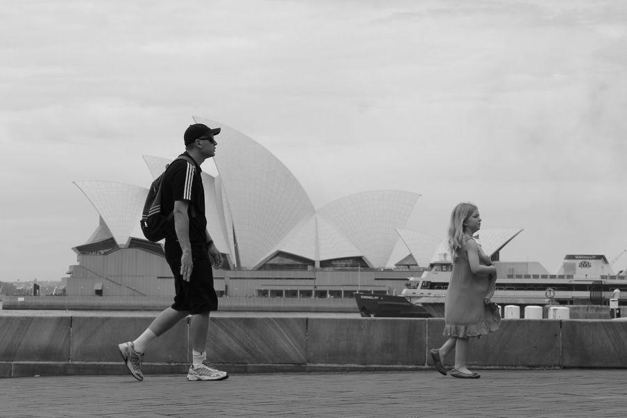Australia City City Life Fine Art Photography Heights Lifestyles Operahouse Outdoors People