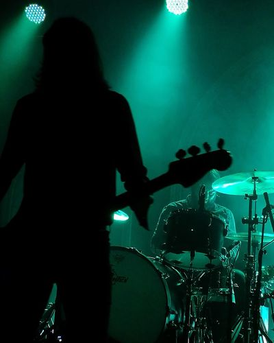 Band of Skulls, SWX club Bristol Silhouette Rock Musician Drum Kit Rock Band Concert Drummer Gigphotography