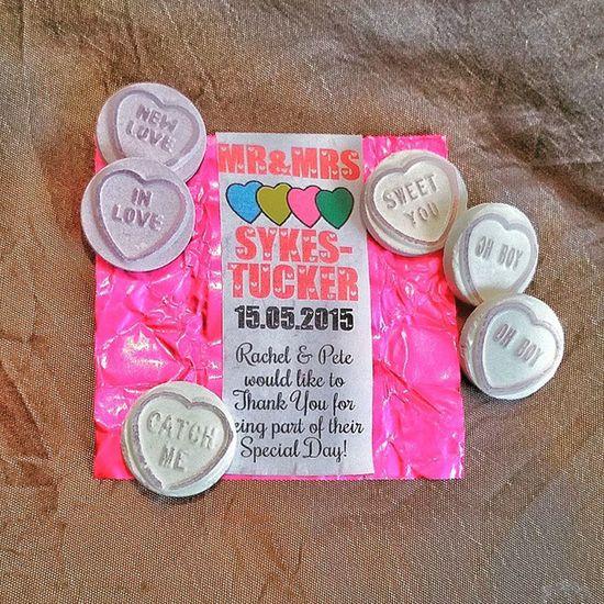 Lovehearts Loveheart Wedding Favour Love Heart