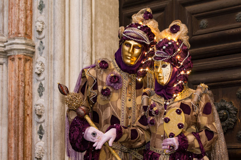 Carnival in Venice Carnival In Venice Venice, Italy Architecture Built Structure Close-up Costume Day Mask - Disguise Ornate Outdoors Pose The Portraitist - 2018 EyeEm Awards