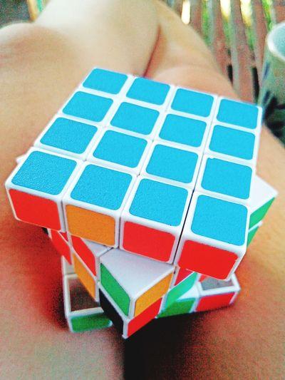 Practising rubiks cube! 😊