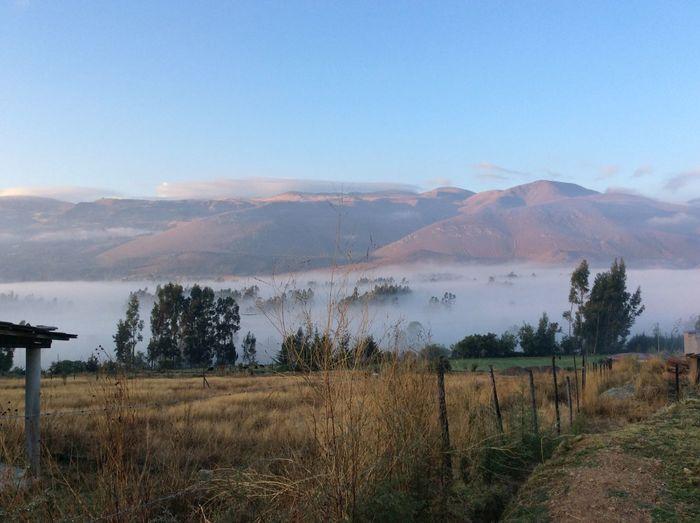 La neblina de la mañana, Cajamarca, Llacanora First Eyeem Photo