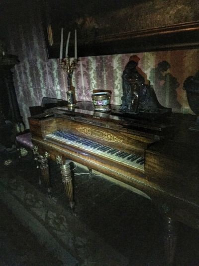 Interview With The Vampire Piano Piano Keys Haunted Haunted House Haunted Places