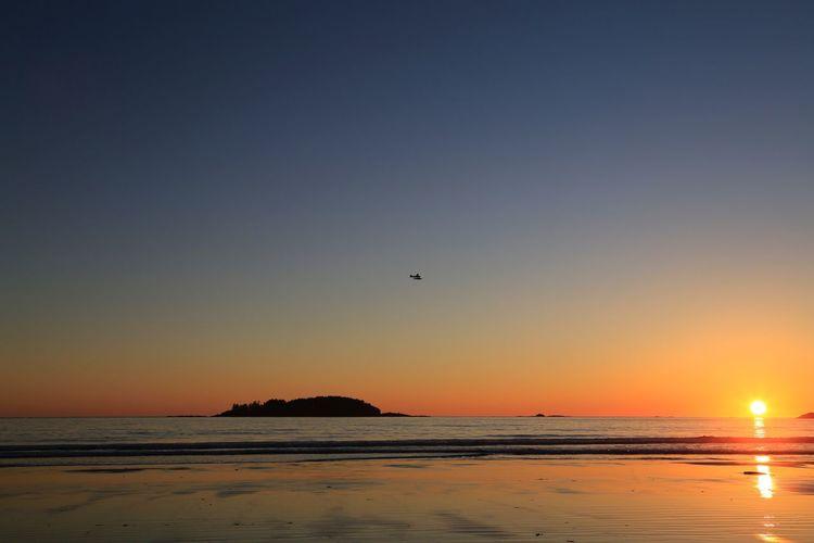 Sunset Beauty In Nature Scenics
