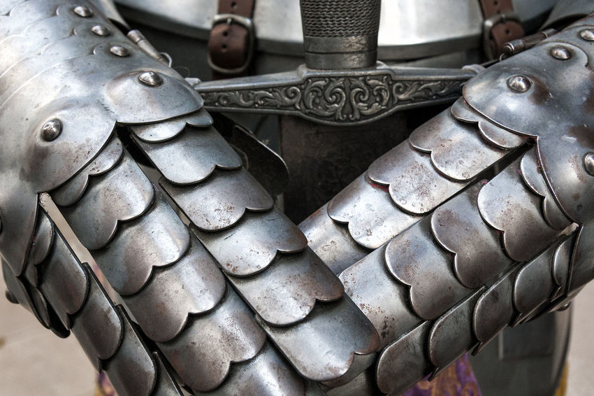 Armor 01 Abundance Armor Armory Arrangement Backgrounds Close-up Day Detail Focus On Foreground Full Frame Group Of Objects Handmade In A Row Large Group Of Objects Man Made Object Metallic Middle Ages No People Part Of Repetition Silvered Still Life