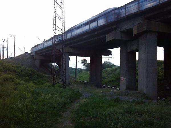 Train Bridge Kharkiv Time To Travel