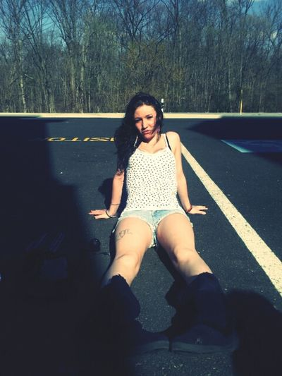 Tanning In A Parking Lot Lmao