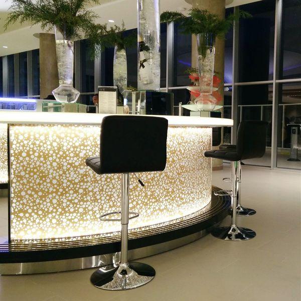 """The """"S"""" Bar at Punta Cana International Airport."""