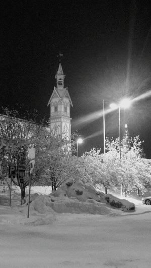 Wintertime Snowing Suomi Finland Christmas Cold Winter ❄⛄ Coldweather Winter Wonderland Church