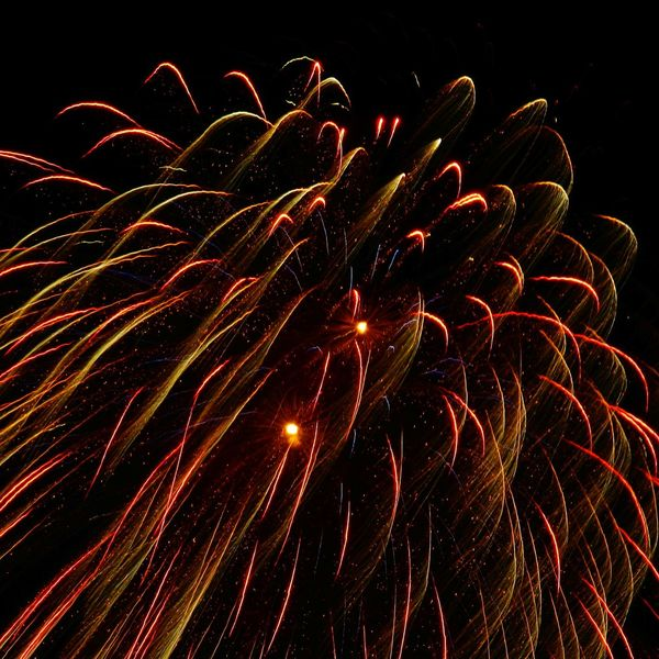 Firework Illuminated Multi Colored Firework Motion Arts Culture And Entertainment Firework Display Clear Sky Celebration Firework - Man Made Object Long Exposure