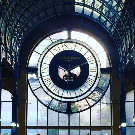Longines Clock Mall Galeriasinsurgentes Cdmx Mexico